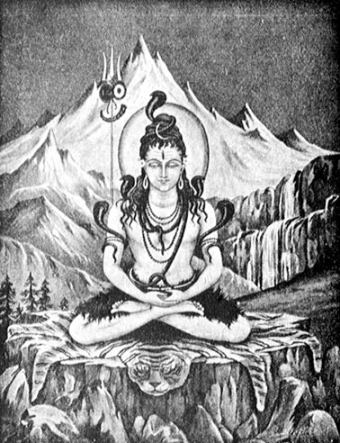 The Lord in his aspect as Shiva