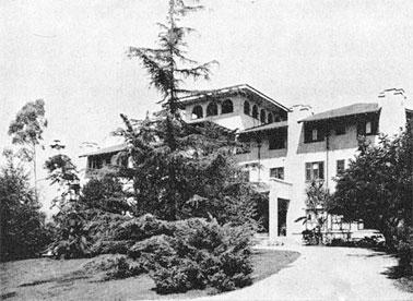 Main building at the Mount Washington Estates