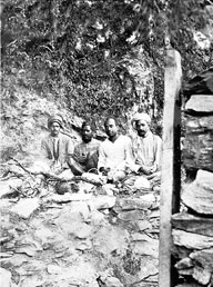 One of the caves occupied by Babaji