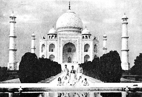 The Taj Mahal at Agra