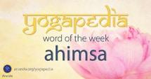 Ahimsa sanskrit meaning from Yogapedia, Ananda's Yogic Encyclopedia