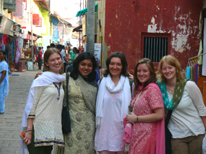 Ananda College Students in India