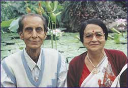 Hare Krishna and Anjali Ghosh