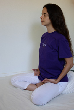 How to sit comfortably in meditation ananda for How to sit comfortably on the floor