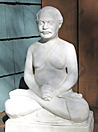 The statue of Lahiri Mahasaya that Gurupod visited for eight days.
