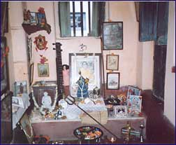 Devi's meditation room