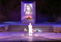 Swami Kriyananda at the Ford Theater