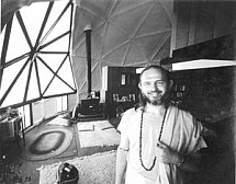 Swami kriyananda 70s at the Crystal Hermitage