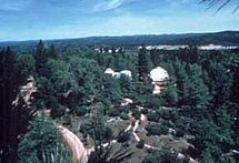 arial view meditation retreat 1969