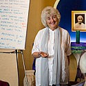 Savitri-Simpson-teaching-Meditation-Teacher-Training-day-1-in-front-of-meditation-students
