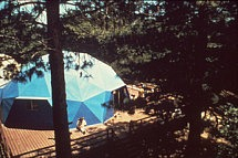 Office dome meditation retreat 1969