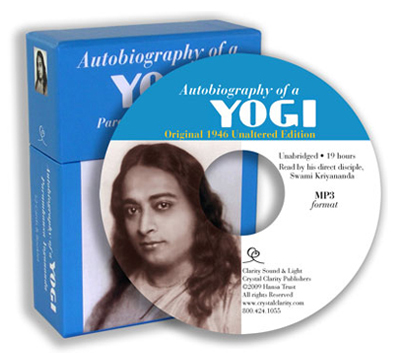 Autobiography of a Yogi: Unabridged Audiobook & 52 Card-Deck Set