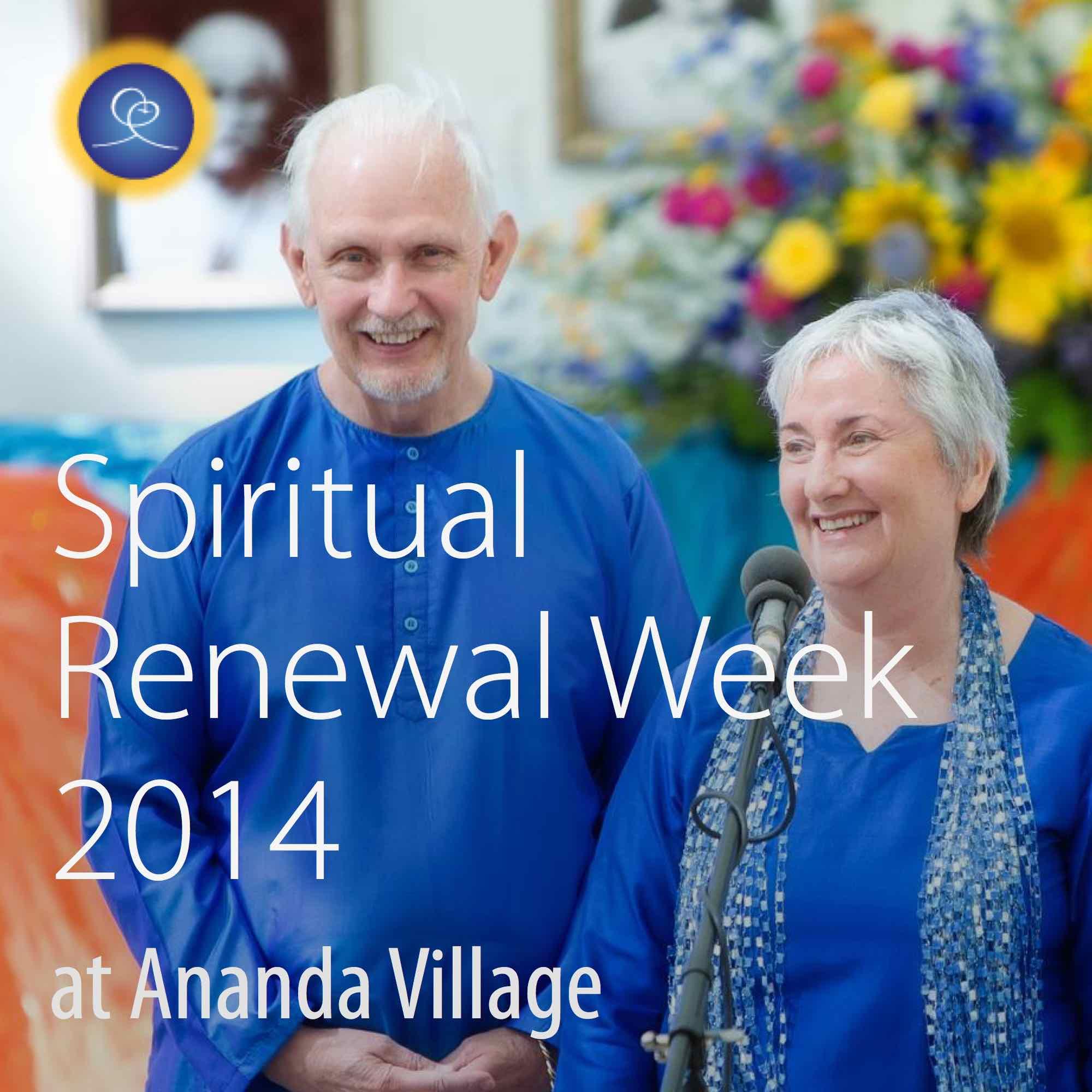 Spiritual Renewal Week, 2014