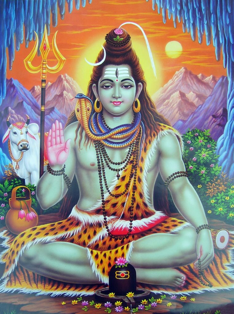 "Shiva: The Perfected Yogi Whose Energy Flows ""Down and Out!"" — Ananda"